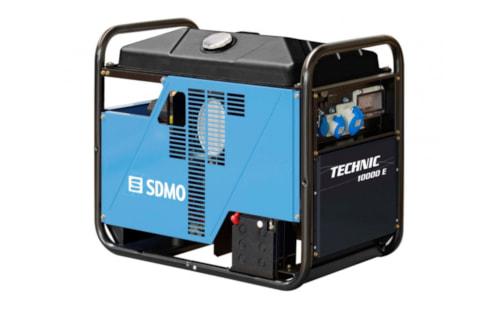 Электрогенератор SDMO TECHNIC 10000 E с гарантией