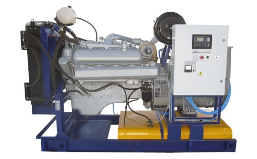 Электрогенератор ЯМЗ / ММЗ АД120-Т400 ЯМЗ от ЭлекТрейд