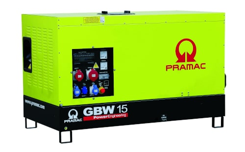 Электрогенератор PRAMAC GBW15Y от ЭлекТрейд