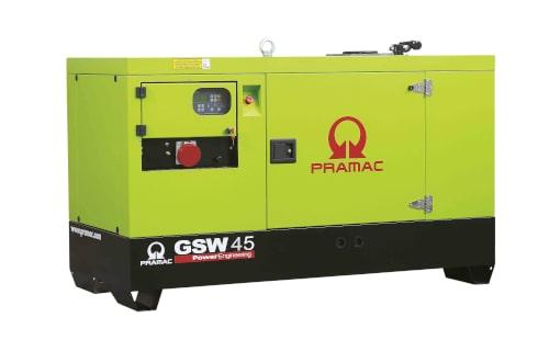 Электрогенератор PRAMAC GSW45P с гарантией