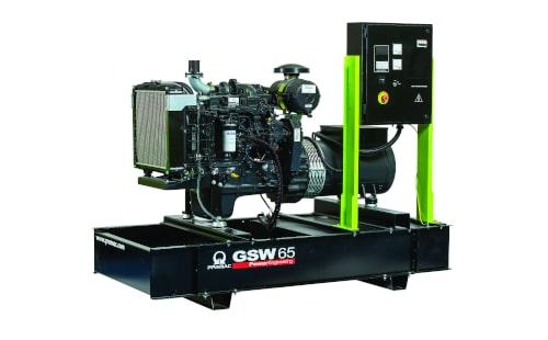 Дизель-генератор PRAMAC GSW65I с гарантией