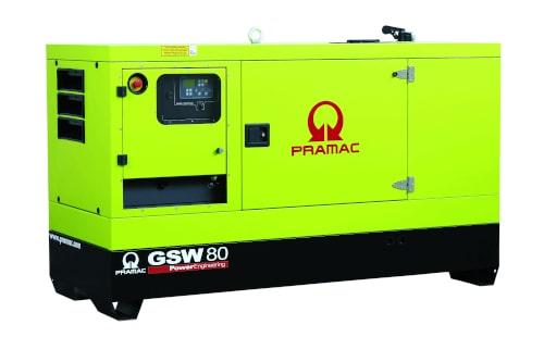 Генератор PRAMAC GSW80I с гарантией