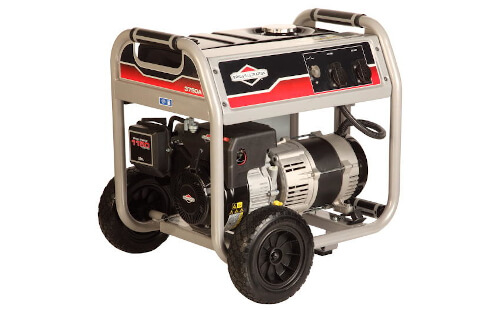 Бензиновый генератор BRIGGS & STRATTON 3750 A от ЭлекТрейд