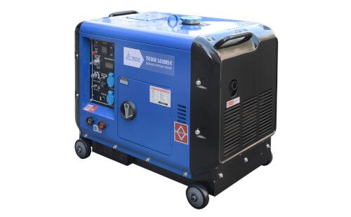 Сварочный генератор ТСС DGW 5.0/200ES-R от ЭлекТрейд